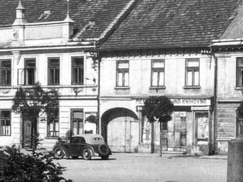 sídlo knihovny v roce 1951